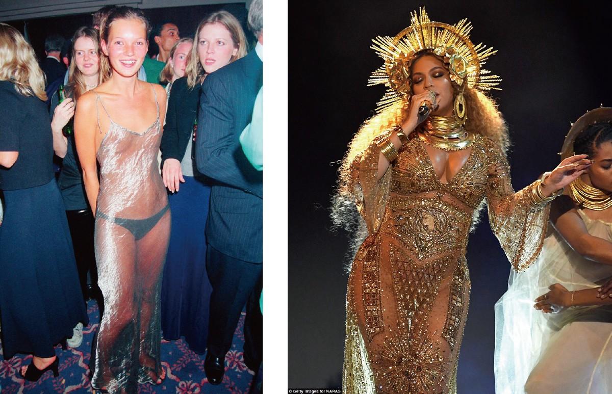 透視宣言:我的身體就是最美的時尚, 網路正妹美女分享